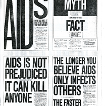 United Kingdom AIDS National Press campaigns