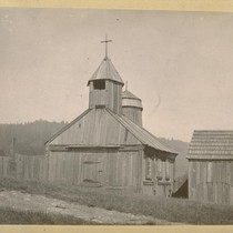 Old Russian Church, Fort Ross - before