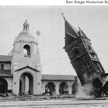 Demolition of the old Santa Fe Depot Railroad Station