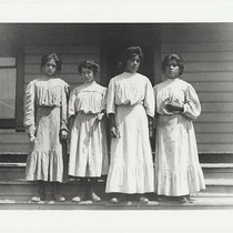 (1) Pearl Seider, (2) Annie Rose, (3) Fanny Brown, and (4) Ida ...