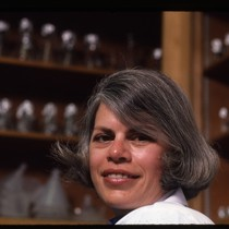 Constance Wofsy in laboratory