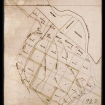 Los Angeles Canal Reservoir Company property, ridge of Stone Quarry Hills, and ...