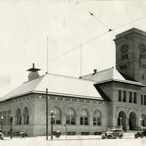 1935, Old Post Office building, Northwestern view