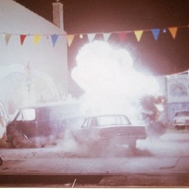 "Car crash stunt sequence from ""Bad Boys"" (2)"