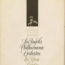 Brochure for the Los Angeles Philharmonic Orchestra 1964-1965 Season