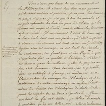 Frederick the Great, letter, 1766 Sept. 13, to Voltaire
