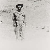 Arthur J. Brown at La Brea Ranch : 1945