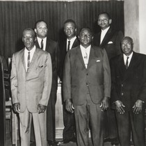 Bethel A.M.E. Church Board of Stewards, Oxnard : 1967 ; front row ...