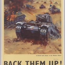 Back Them up! : A British tank attack in the western desert