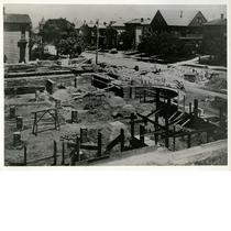 First Church of Christ, Scientist under construction, northwest corner of 17th and ...