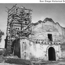 Mission San Diego de Alcala undergoing extensive restoration
