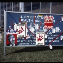 AIDS protest at Federal Drug Administration offices in Washington, DC [3]
