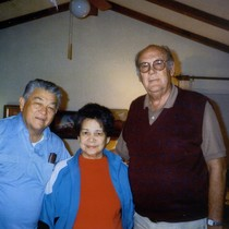 Earl R. Oatman, Vernon Fassoth and Aurora Fassoth