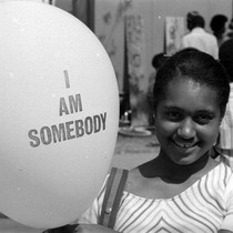 I am somebody balloon