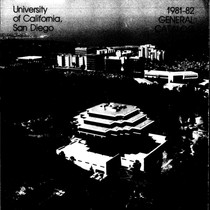 UC San Diego General Catalog, 1981-1982
