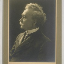[Portrait of Isaiah West Taber. Photograph by Suski.]