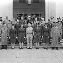 Graduating Class of Santa Ana High School in 1942