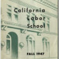 California Labor School 1947 fall term catalog