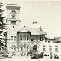 1940, Old Post Office building, Southern view
