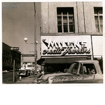 Milens Credit Jewelers, looking north on 12th Street from Washington Street in ...