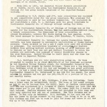 Addendum to July 16, 1959 report on Desert Growers Association