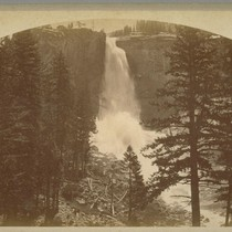 Yowiye, The Nevada Fall, 700 Ft., Yo Semite [Yosemite], B 3163