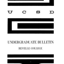 UC San Diego General Catalog, 1966-1967 (All colleges)