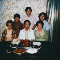 Lee Family at Thanksgiving [graphic]