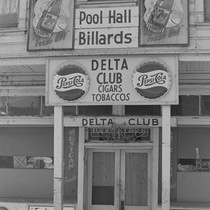 Delta Club pool hall, from Walnut Grove: Portrait of a Town