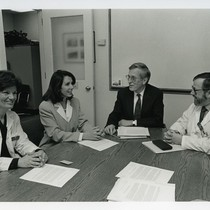 Deborah Greenspan, Nancy Pelosi, John C. Greene, and John Greenspan