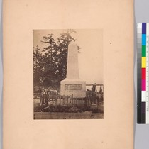 [Boundary monument at Point Roberts - Capt. J.C. Prevost, R.N., Capt. G.H. ...