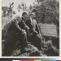 Berkeley campus. April 22, 1960 ceremony at Founders' Rock noted the beginning ...