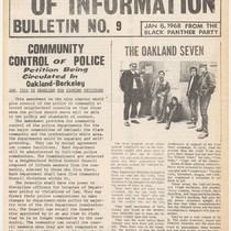 Ministry of Information Bulletin, No. 9, cover