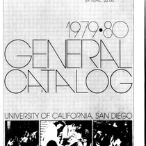 UC San Diego General Catalog, 1979-1980