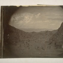 Eldorado Canyon from San Juan Camp, downwards [From the edge of San ...