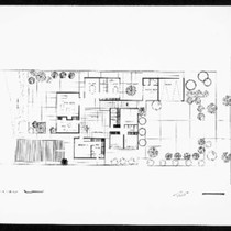 Chiat residence, South Pasadena, ca.1968, documents