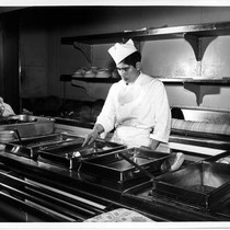"""3rd class kitchen & chef PW. HVW '54"""