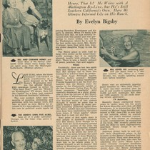 1953 TV-Radio Life article on Henry