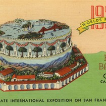 1939 World's Fair Cake by Bill Baker, Ojai California