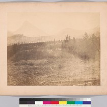 [Approach to the boundary pass, Rocky Mountains - right portion of three-part ...