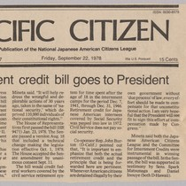 Pacific Citizen article 9/22/78