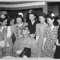 Pvt. Yoshinao Omiya, Hawaiian-born Nisei who served with the famed 100th Infantry ...