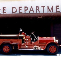 1921 Seagrave Fire Engine at Station #5