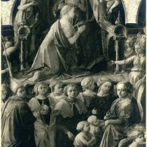 Detail of the Coronation of the Virgin