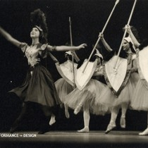 "Bene Arnold and corps de ballet in Christensen's ""Beauty and the Shepherd"""