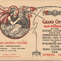 [Cover for Grand Opera House program]