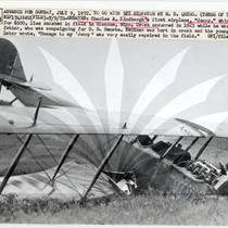 "Charles A. Lindbergh's First Plane, ""Jenny"""