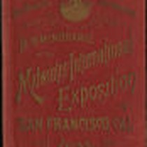 1894, In Remembrance of the Midwinter International Exposition, San Francisco, Cal