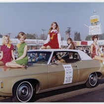 Arcadia Tournament of Roses Royal Court, 1969