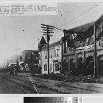 1906 Earthquake - Second Avenue